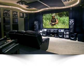 Superb Today Homeowners Can Choose To Design A Dedicated Home Theater Room Or To  Create A Multi Purpose Family Room With A Home Theater System.